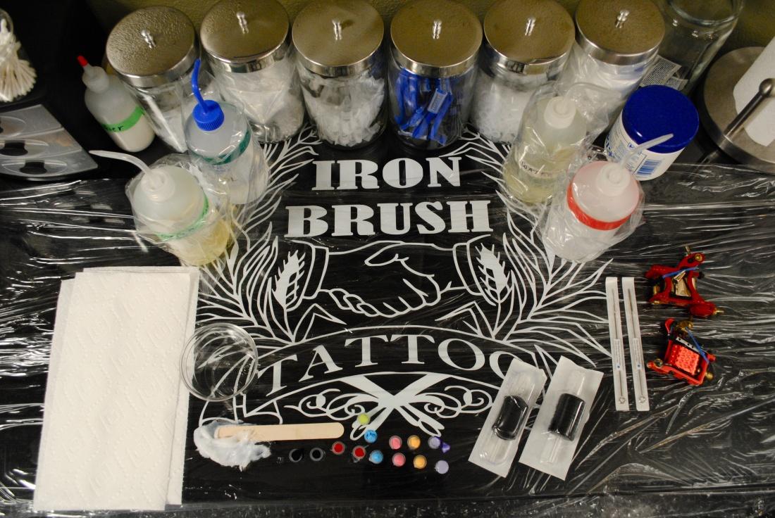 Sterilization procedures iron brush tattoo for Tattoo sterilization equipment