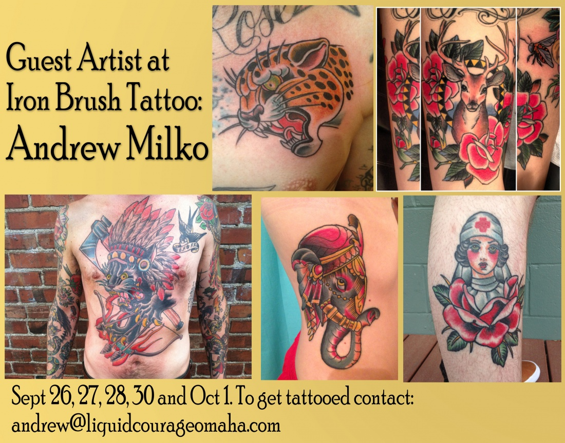 Category body art news iron brush tattoo for How to email a tattoo artist