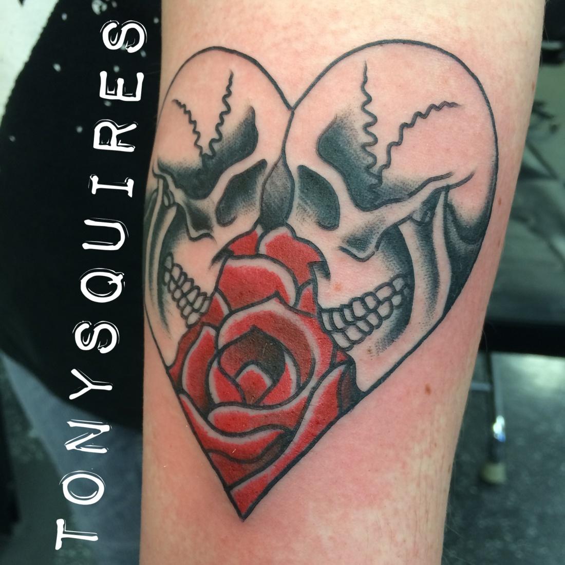 Tattoo Designs Dedicated To Wife: Iron Brush Tattoo