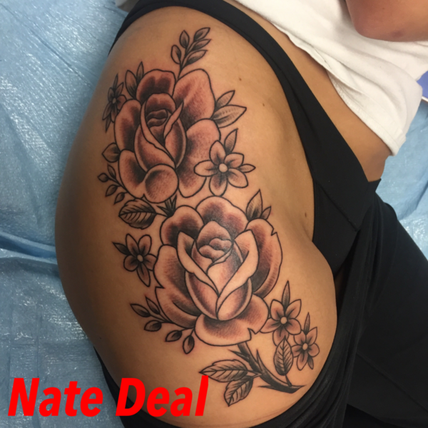 New art this week 12 6 16 iron brush tattoo for Tattoos that last 2 weeks
